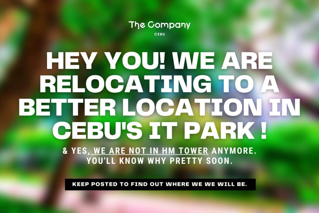 NEWS: The Company IT Park Cebu's New Location