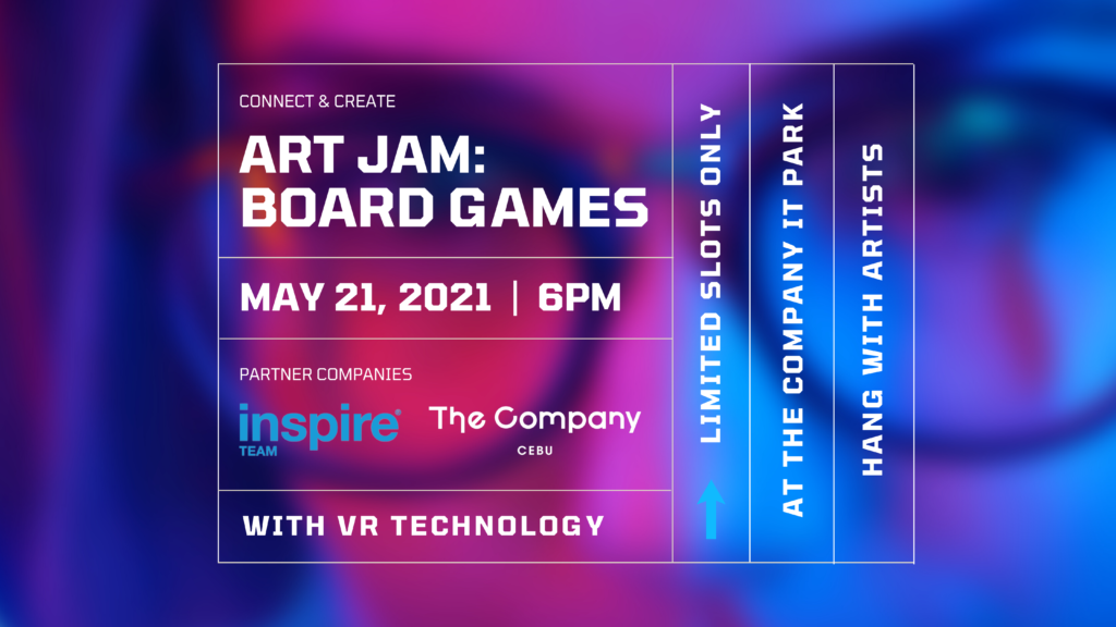 EVENT @ The Company IT Park |  Art Jam: Board Games