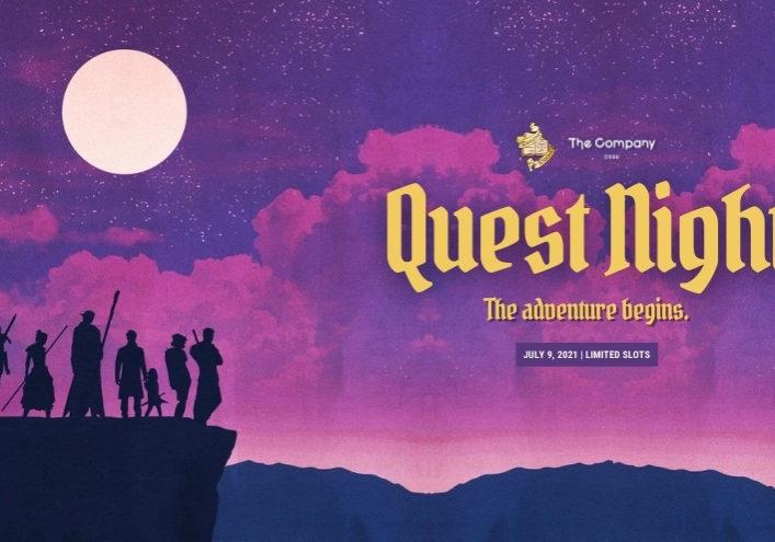 Quest Night l July 9, 2021 WordPress Blog Cards